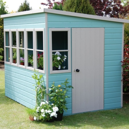 no 19 8′ X 6′ Pent Shiplap Wooden Garden Sheds